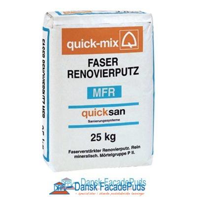 MFR – Mineralsk fiberforstærket renoveringspuds (Grå)