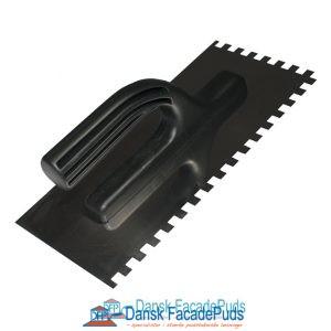 Tandspartel plastikhåndtag 125x270mm